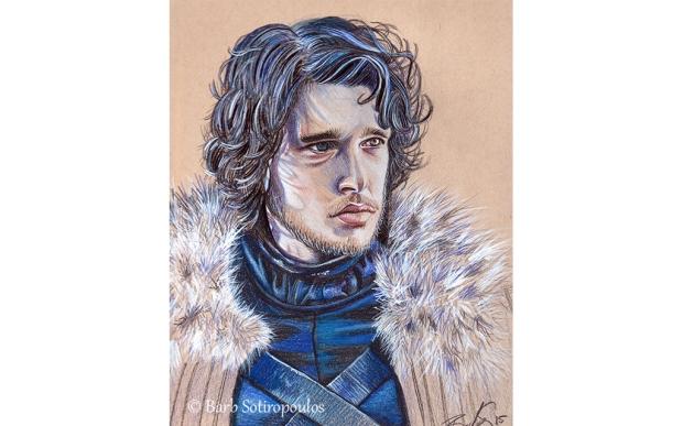 Jon Snow_Barb Sotiropoulos