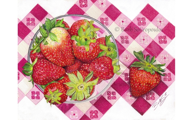 Summer Strawberries_Barb Sotiropoulos