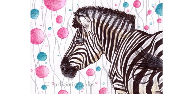 Zebra Party_Barb Sotiropoulos