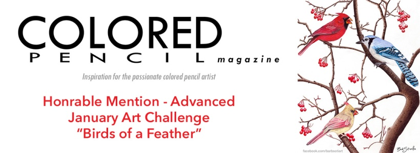 Colored Pencil Magazine Honorable Mention