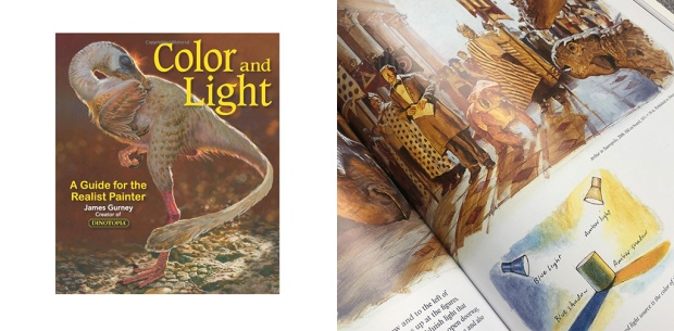 Color & Light Book by James Gurney